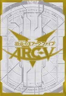 (100) Yu-Gi-Oh! Arcv Card Sleeves White 100 Piece 63x90mm