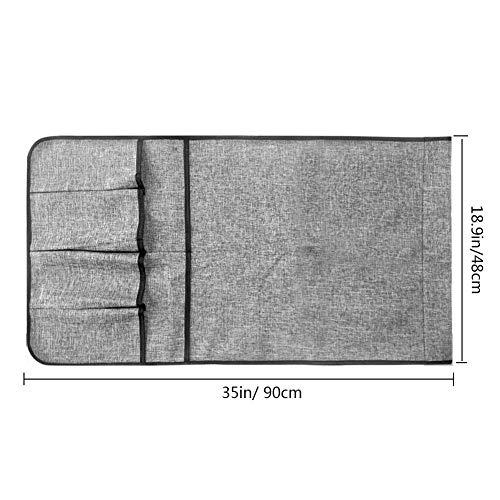 Pursueリモコンポケットサイドポケット収納ポケットソファー掛け袋小物入れベッドサイド収納ポケット雑貨整理便利多機能