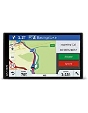 Garmin Drive Smart navigatieapparaat touchdisplay, levenslange kaartupdates en verkeersinformatie, Smart Notifications, 010-01680-12, Kaarten West-Europa, 6.95-inch display, zwart