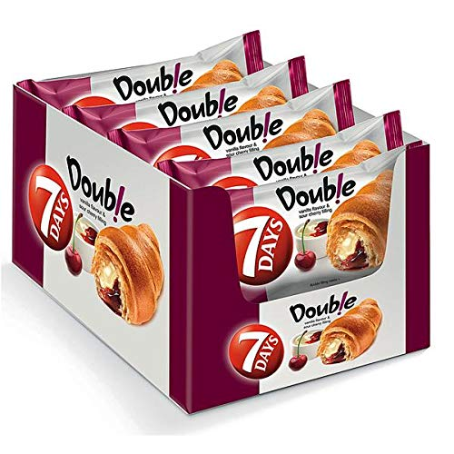 7 Days Croissant Vanille-Sauerkirsch, 20er Pack, (20 x 60g)