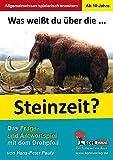 Was weißt du über ... die Steinzeit?: Das Frage- und Antwortspiel mit dem Drehpfeil