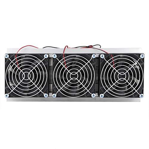 Socobeta Raffreddamento termoelettrico Radiatore a semiconduttore Radiatore di Raffreddamento affidabile Frigorifero Pratico Facile da Usare Alta qualità per PC per Computer per Desktop