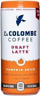 Sponsored Ad - La Colombe Pumpkin Spice Draft Latte - 9 Fl Oz, 12 Count - Cold-pressed Espresso & Frothed Milk + Real Pump...