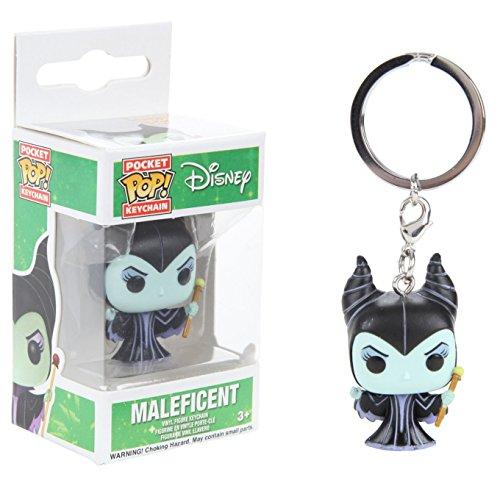 Funko- Pocket Pop Keychain Disney Maleficent, 4861