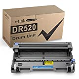 V4INK Compatible DR 620 DR 520 Drum Unit Replacement for Brother DR620 DR520 for Brother HL-5370DW 5340D 5250DN 5240 5350dn MFC-8480DN 8890DW 8460N 8690DW 8680DN 8660DN DCP-8060 8080DN Printer 1 Pack