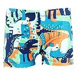 Happy Cherry Baby Boys' Swimming Trunks Cartoon Animal Design Swimwear Short Pants 1-2 Years Green