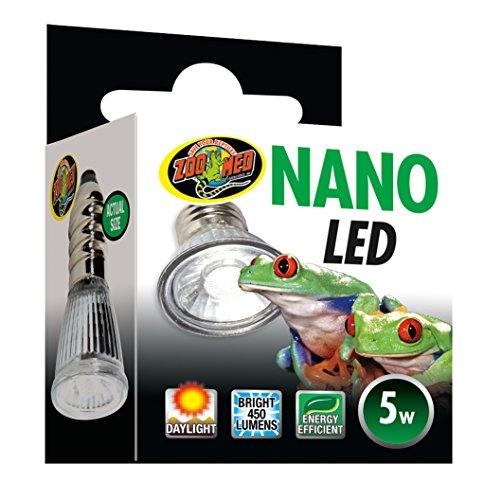 Zoo Med Nano - Iluminación LED para Nano-Terrario (5 W)