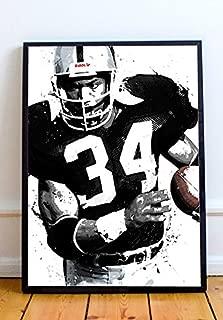 Bo Jackson Limited Poster Artwork - Professional Wall Art Merchandise (More (8x10)