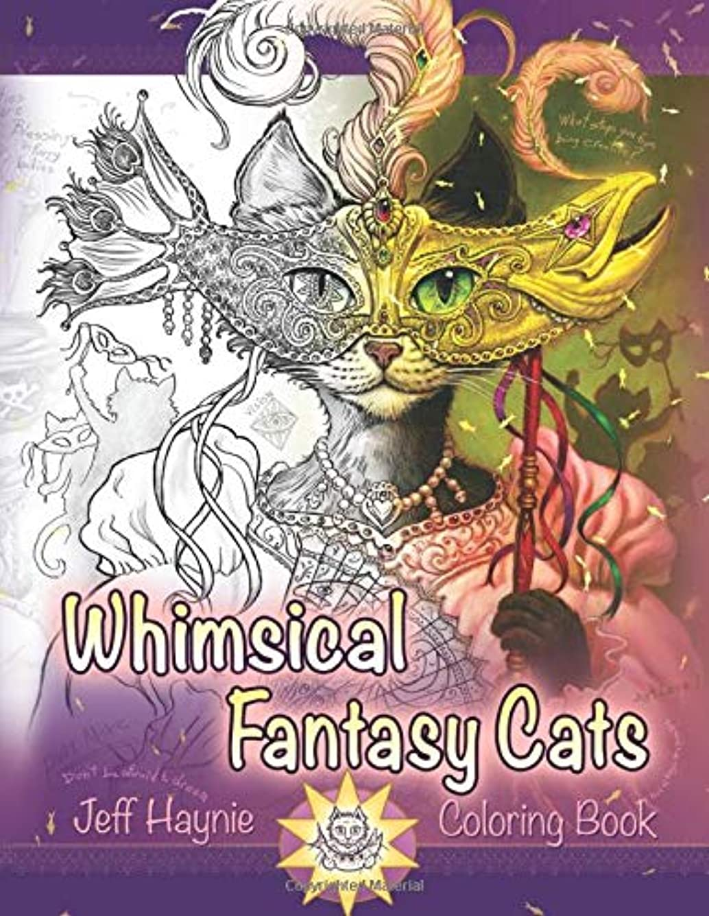 品種年金受給者ボタンWhimsical Fantasy Cats