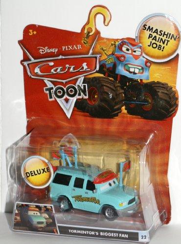 Disney Pixar CARS TOON Exclusive Oversized Die Cast Car Tormentor's Biggest Fan - Véhicule Miniature - Voiture 22