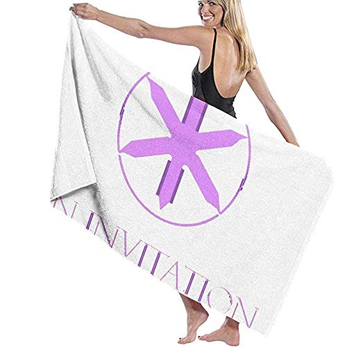Mantra-Bring Me The Horizon Microfiber Toalla de baño Extra Grande Altamente Absorbente Toalla de Playa con Textura de Secado rápido para Acampar Playa Yoga o baño
