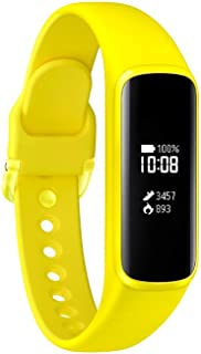 Samsung Galaxy Fit E 中性成人活動追蹤手鏈,黃色,0.74