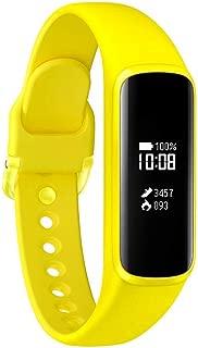 Samsung Galaxy Fit E 中性成人活动追踪手链,黄色,0.74