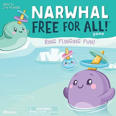 Narwhal Free for All Game from Asmode