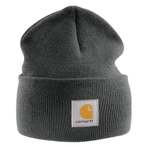 Carhartt Acrylic Watch Cap - Grau Strickmütze Hüte Beanie Mütze Männer Kappe CHA18CLH-Universal