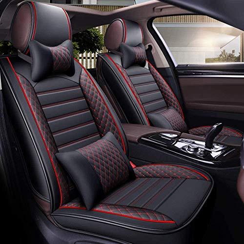 YSDS-JZ Cover of Car Seat Le Quattro Stagioni, Cuscini, Schiena e Cuoio dell'unità Universale Anteriore 5 posti, 9 Camere