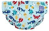 Bambino Mio Schwimmwindel SWPS DSB, Meerestiere Blau, S (0-6 Monate)