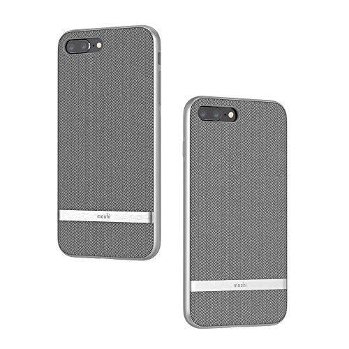Moshi Vesta Funda para teléfono móvil 14 cm (5.5') Blanda Gris - (Apple, iPhone 8 Plus/7 Plus) Estampado