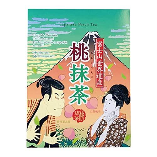 マン・ネン 桃抹茶 12g×8袋 桃