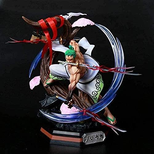 One Piece Roronoa Zoro / Carácter Anime Modelo Juguetes / Decoración Desktop / Model Colección / Estatuas de PVC Modelo de acción Anime / Regalos Adecuado para Amigos / C