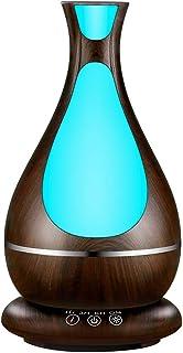 comprar comparacion Humidificador Ultrasónico, 400ml Difusor de Aromaterapia, Difusor de Aceites Esenciales, Vaporizador,Temporizador,Purifica...
