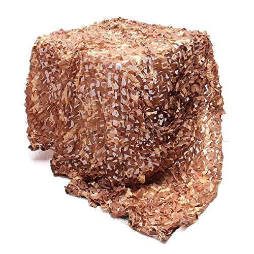 BRFDC Red de Camuflaje Camo Malla Malla Malla Coche Cubierta de Muebles 4mx2m Camuflaje Caza de Arena/Tiro Pantalla de persiana Red Camuflaje (Talla : 4mx2m)