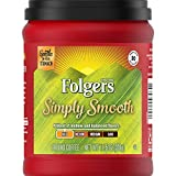 Folgers Simply Smooth Mild Roast Ground Coffee, 11.5 Ounces (Pack of 6)