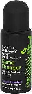 Parfums De Coeur Game Changer Body Spray for Men, 4 Fluid Ounce.