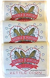 Double K Popcorn Microwave Kettle Corn, 18 Count