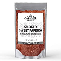 PURE HIMALAYAN SALT BLEND: This aromatic, smoky seasoning starts with a pure whole food - pink rock salt, mined from deep under the Himalayan mountains. We then add our Spanish Smoked Sweet Paprika, made from mild red peppers dried in an oak wood-bur...