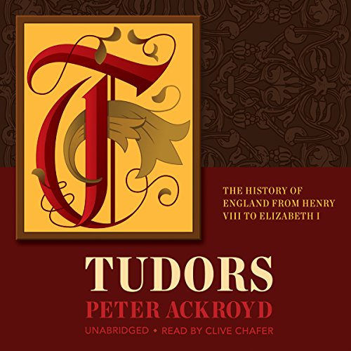 Tudors audiobook cover art