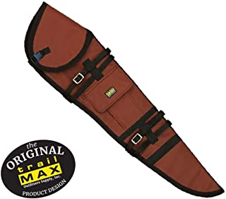 leather scoped rifle scabbard