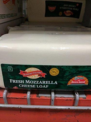 Supremo Italiano Fresh Mozzarella Loaf 5 Lb