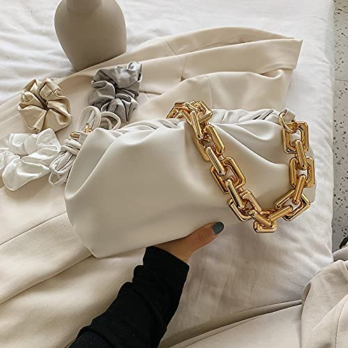 Sale zyylppylw Shoulder Bags Under blast sales Solid Color Bag 2021 Pleated Tote Fashio
