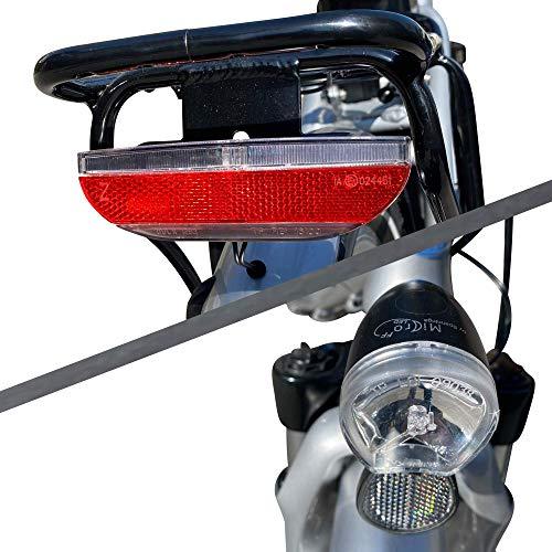 GermanXia Elektro-Faltrad Mobilemaster Touring CH 7G Shimano 20 Zoll, eTurbo 250 Watt HR-Antrieb, bis zu 138 km Reichweite nach StVZO Bild 2*