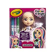 Colour in the dolls' body, face and hair using the magic pens to create colourful designs and patterns Easy to clean! Wipe off using a cloth and rinse hair simply with water Reuse! Restyle again and again Create endless colourful styles for hours of ...