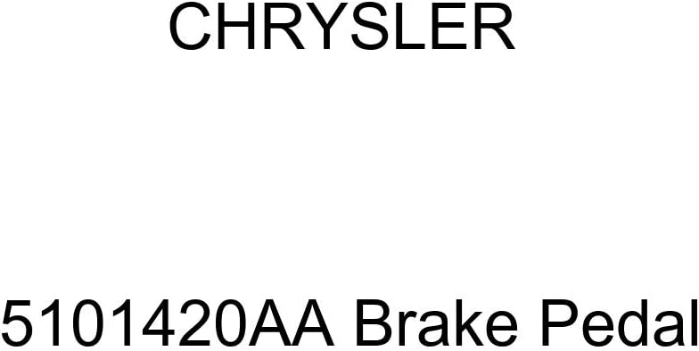 Chrysler Genuine Max 88% OFF 5101420AA San Jose Mall Brake Pedal