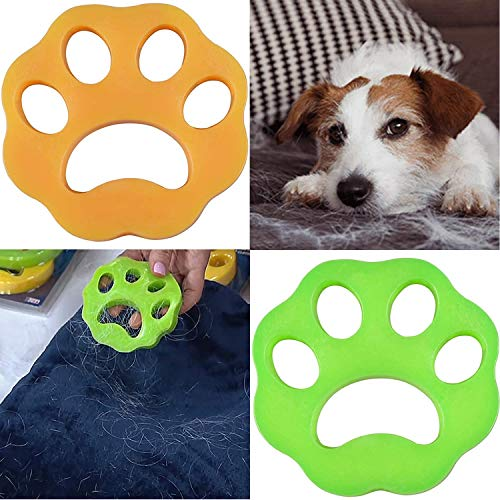 Pet Hair Remover for Laundry,Viiwuu Pet Hair Catcher for Washing Machine, Pet Fur Remover for Clothes, Bedding, Reusable Cleaning Ball Floating Pet Fur Remover Washer Dryer Floating Ball