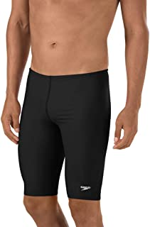 Speedo Men's Swimsuit-Solid Jammer, PowerFlex