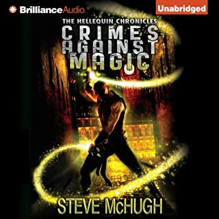 Crimes Against Magic audiobook cover art