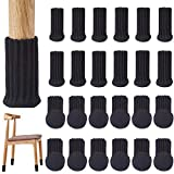 24PCS - VALUCKEE Chair Leg Socks, Elastic Furniture Socks Booties...