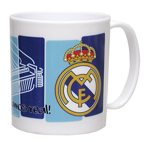 CYP Imports MG-03-RM Taza plástico 26 cl, diseño Real Madrid, Multicolor, 0