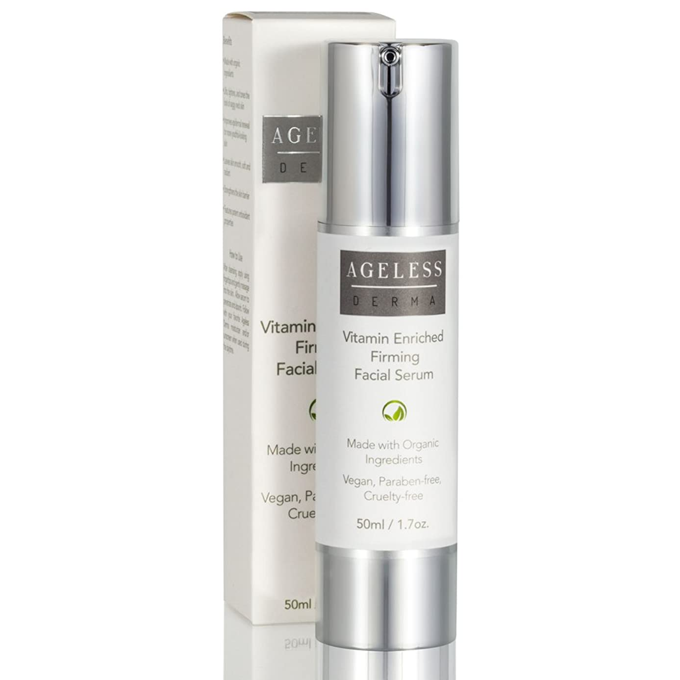 Ageless Derma Anti Aging Face Serum by Dr. Mostamand is a Natural Wrinkle Night Facial Moisturizer Cream for a Healthy and Ageless Skin