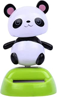 Solar Powered Cute Animal Swinging,Donci Animated Dancer Toy Car Decoration New