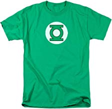 Green Lantern Blackest Night Logo DC Comics T Shirt & Stickers