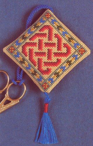 Textile Heritage Celtic Knot Scissor Keep Cross Stitch Kit