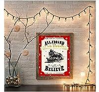 アートプリントポスター、壁アートワークポスター写真、クリスマスサインキャンバス絵画プリント家の装飾、リビングルームモジュラー60X80Cm、寝室の壁アート
