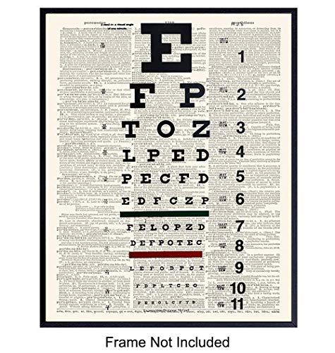 funny eye chart - 6