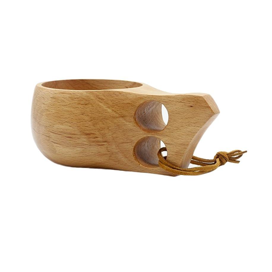世界メガロポリス衣装Zafina 木製 コップ 北欧 インテリア ティーカップ ナチュラル 装飾カップ