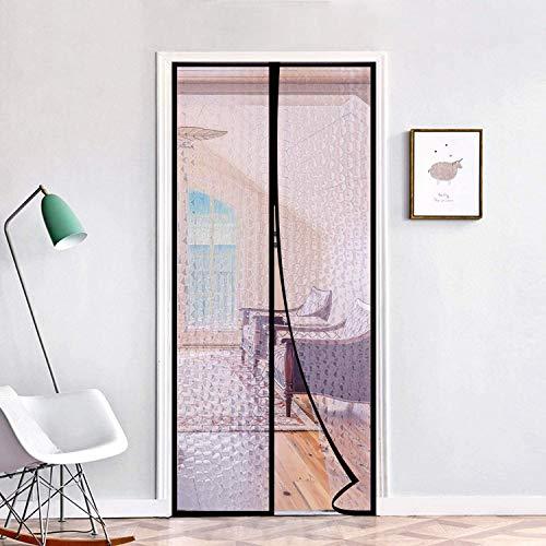 Tenda magnetica termica isolata per porta del patio, copertura automatica per tenere al caldo in inverno fresco in estate, per condizionatore d'aria, riscaldamento, casa, cucina (90 x 210 cm)